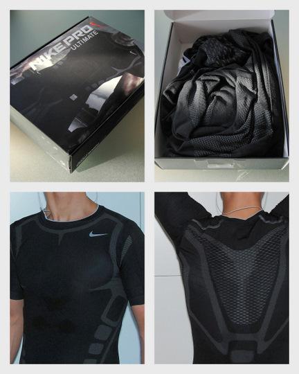 Nike Pro Ultimate Tight Short Sleeve Crew