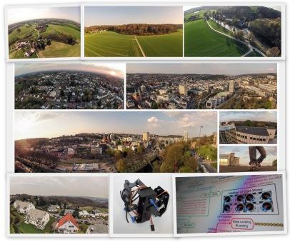 Panorama Solingen Wuppertal Alf Dahl Drone Copter FPV FatShark Dominator Orculous Rift Wtal Elberfeld Luftbild Luftbilder Wupperkotten Laufen Sonnenuntergang BERGISCHE N
