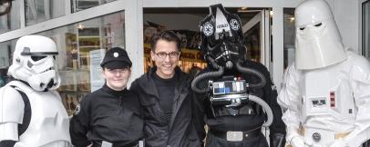 Star Wars Stromtrooper Wuppertal Bergsiches Land Jedi Dunkle Seite Helle Seite Darth Vader Alf Dahl Luke Skywalker TIE Strongmanrun Team 2014