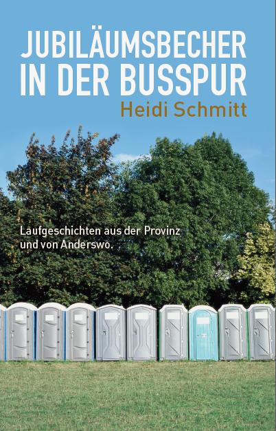 Titel Lesung Laufen mit Frau Schmitt Schmidt Jubiläumsbecher in der Busspur Buch Rezension Wuppertal Köndgen Manuela Sanne