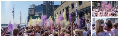 ColorRun Start Holi Festival Color Run The Rebook Köln Dortmund München Fotos Bilder Bericht Alf Dahl