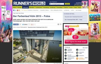 Colour Run Aereal Galerie Runners World Heinz Schier HSR Fotoblog Nina Witte deinestrecke Alf Dahl Aereal