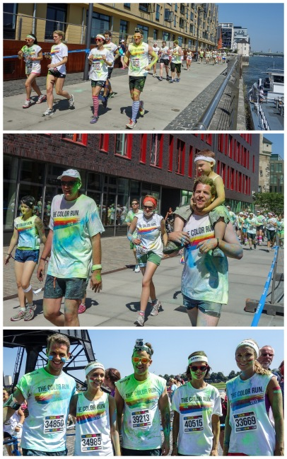 Farbenlauf colorrun pictures germany cologne dortmund duesseldorf running run colors blog blogger