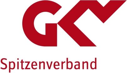 GKV Spitzenverband Logo Präventino Leitfaden Gesundheitskurse Präventionskurse