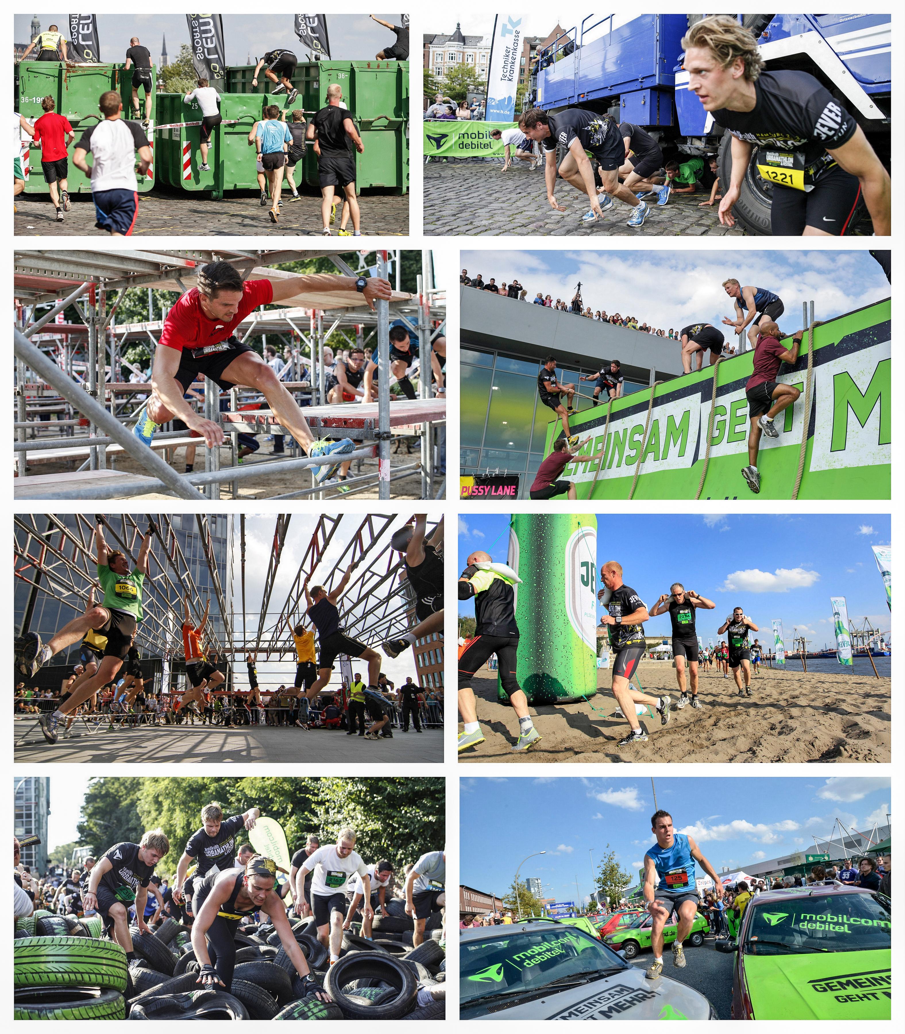 Bericht Urbanathlon debitel mobilcom Jever Hamburg Strecke Karte Startplatz Autos Sperrungen Teilnehmer Blog Marathon Halbmarathon Bone Breaker