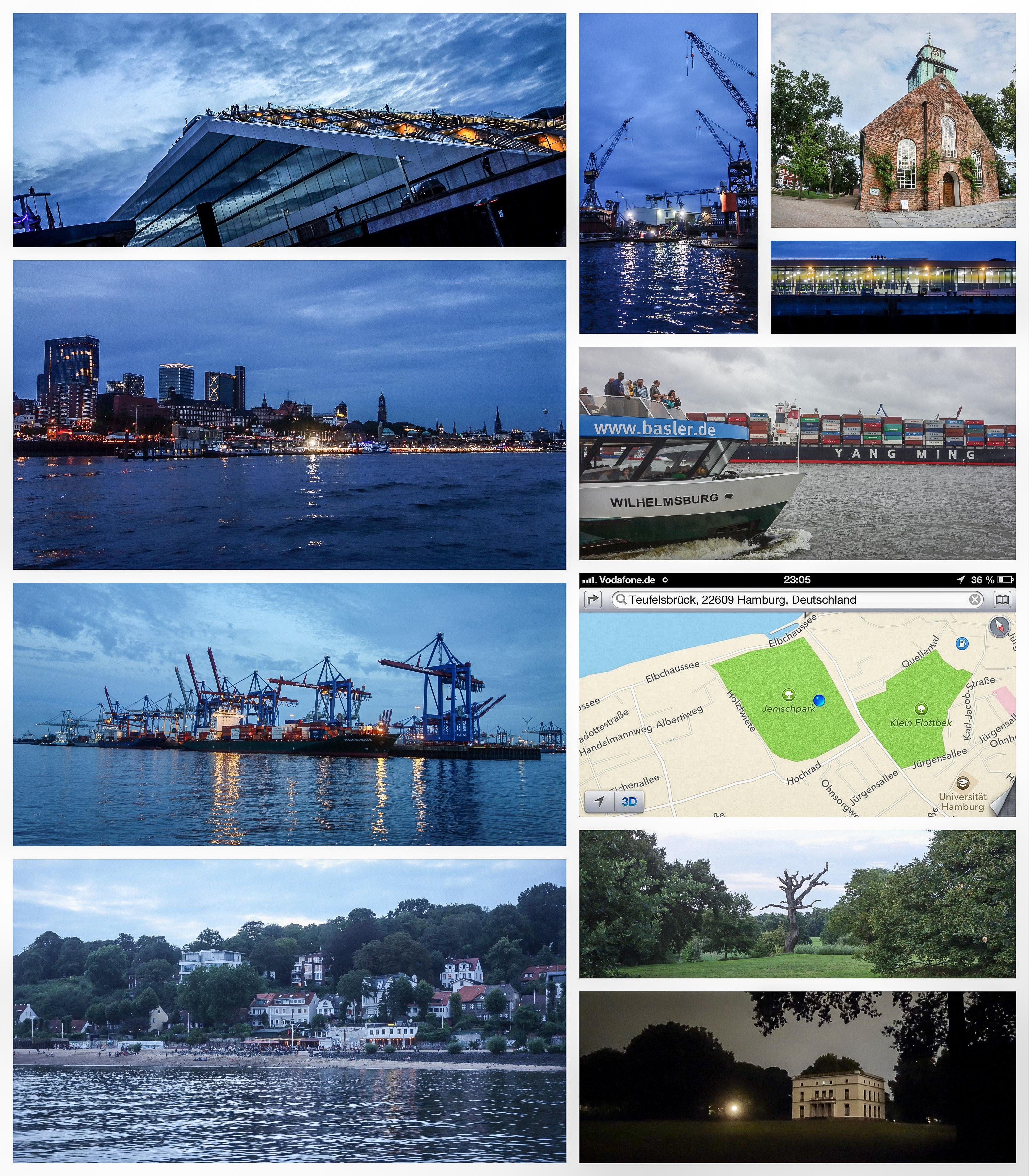 Hamburg Hafen Fähre ÖPNV Botanischer Garten Schiffe Fotos Laufen Strecke Blankenese Kirche Dock Blog Bericht Fotos Halbmarathon Marathon Dahl