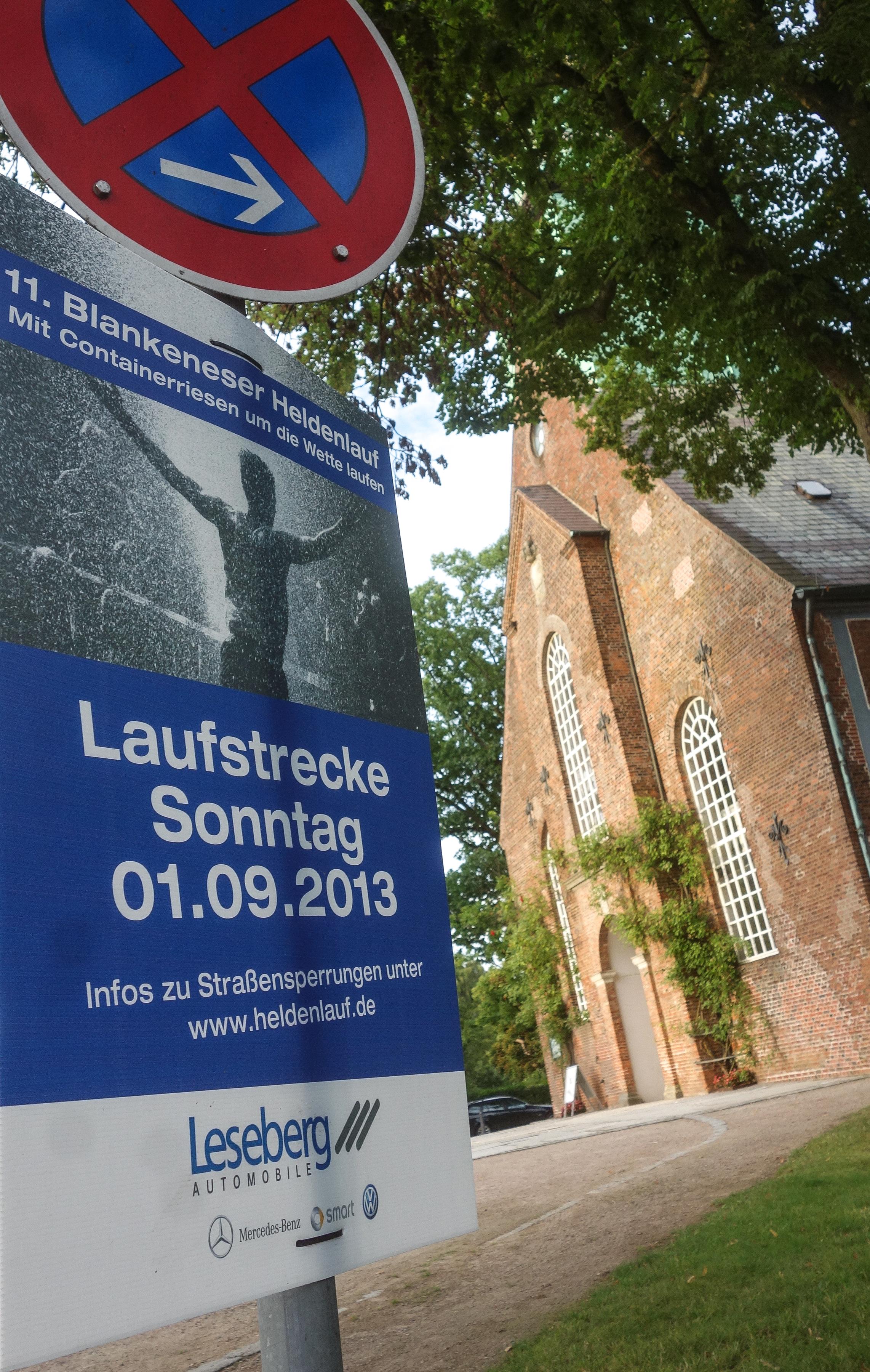 Heldenlauf Hamburg Blankenese Blankenesener Sonntag Sperrungen 01 09 Urbanathlon Laufen Marathon Halbmarathon Hindernisse Fotos Bilder