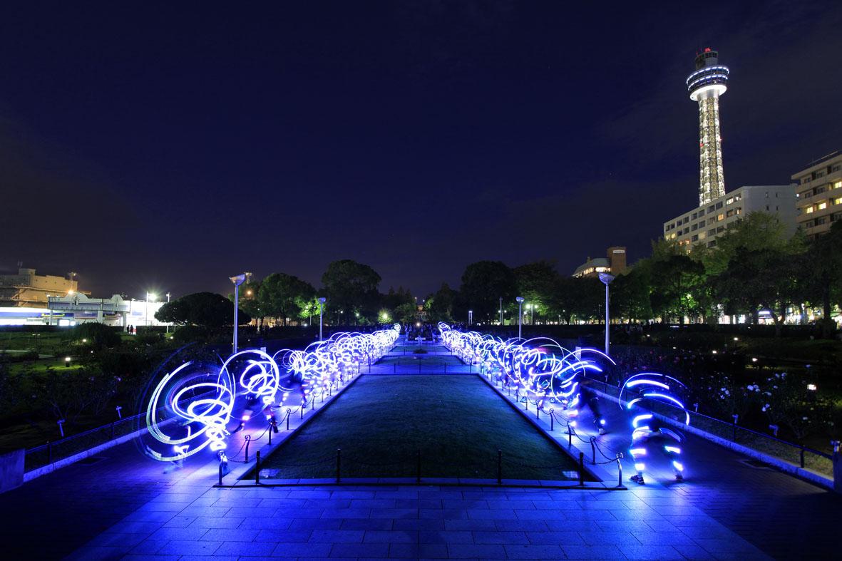 NVA speed of light yokohama ruhrgebiet ruhr bilder fotos bericht reportage artikel zeitung presse alf dahl