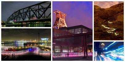 Speed of Light Collage 2013 Oktober Ruhrgebiet