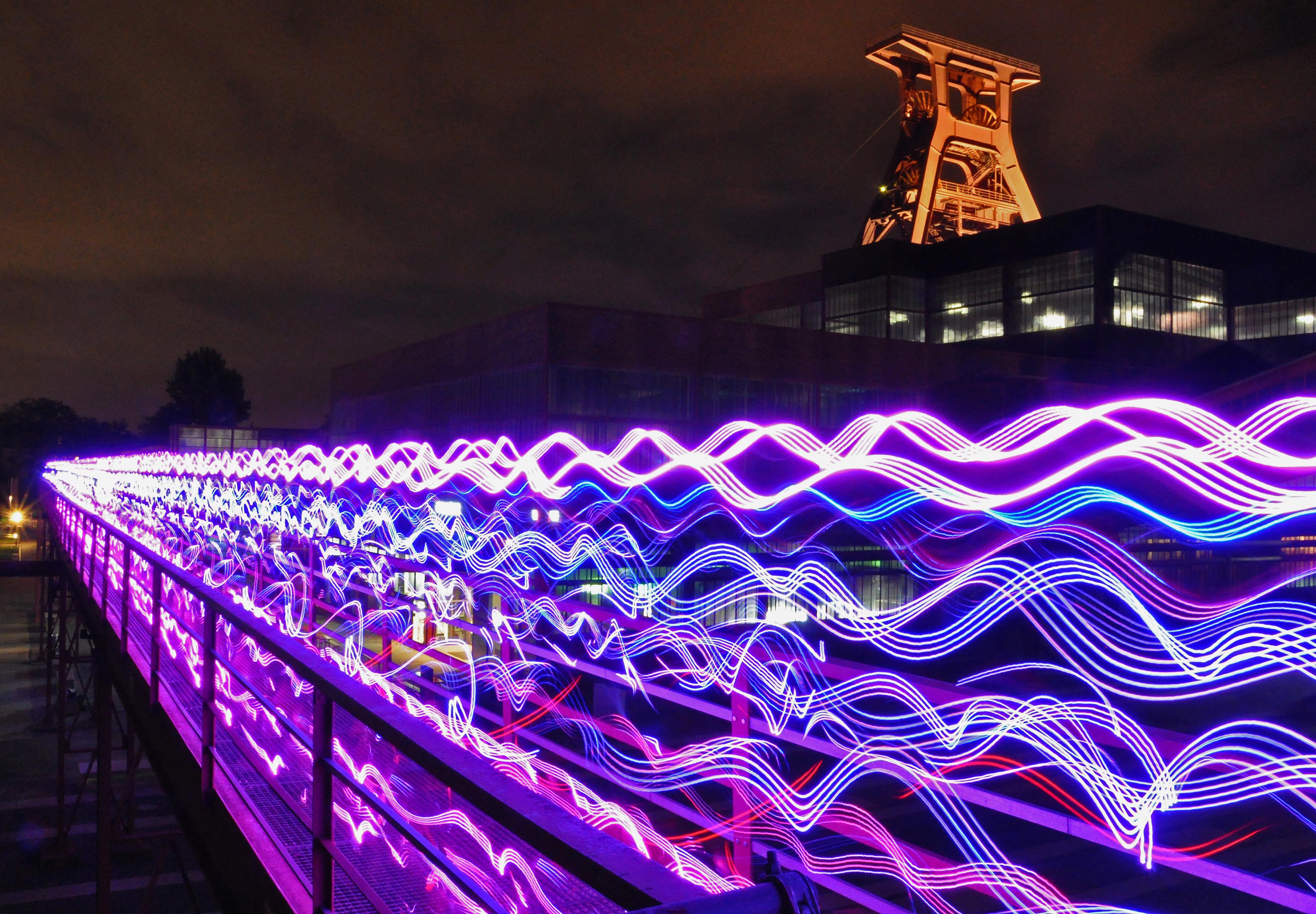 Speed of Light Run Leader RunLeader Probe Termine Bilder Fotos Ruhrgebiet Zeche NVA Blog Twitter Parken Eintritt