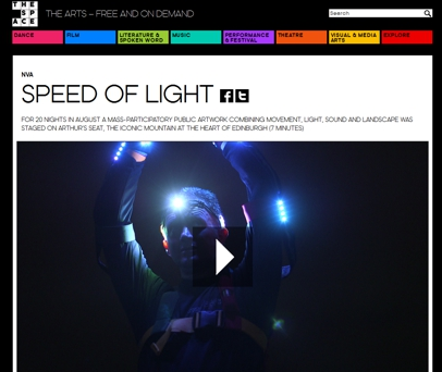 thespace org nva speed of light ruhr