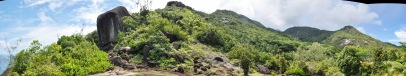 Bergwelt der Seychellen / Mountains on Seychelles Islands