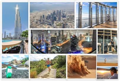 Seychellen Maraton Seychelles Dubai Downtown Desert Index Burj Khalifa Mall Höchster Wolkenkratzer Skyscraper Alf Dahl Wuppertal Solingen Brüssel Rom Abu Dhabi Travelblog Laufen